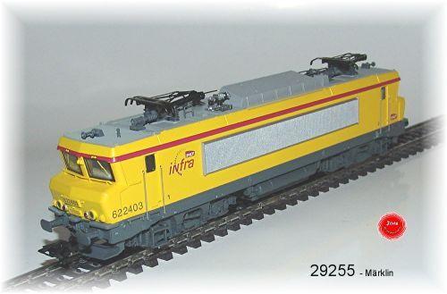 From Märklin 29255 Electric Locomotive Series Bb 22200 SNCF Digital Mfx Metal