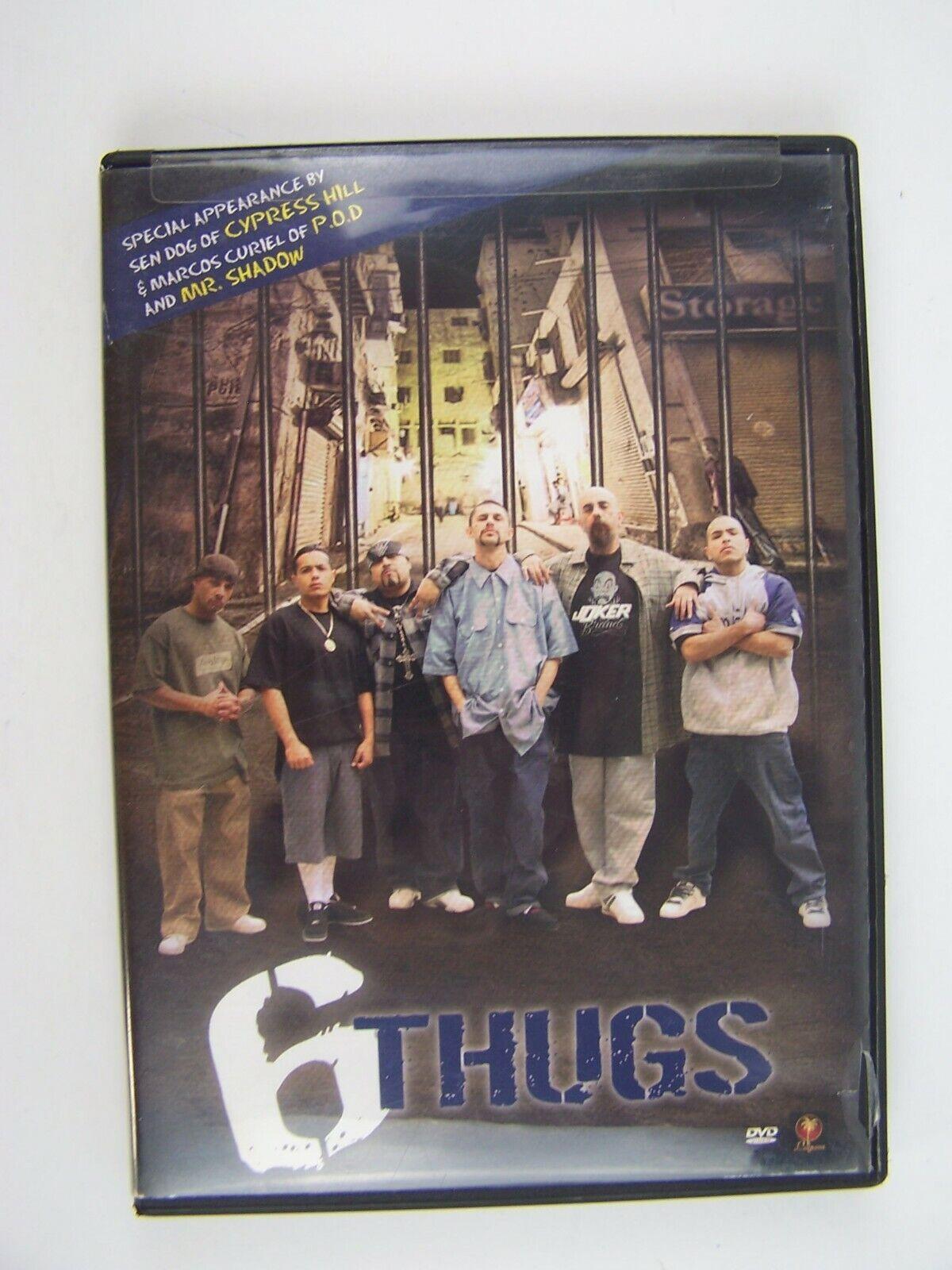 6 Thugs DVD 735978440656