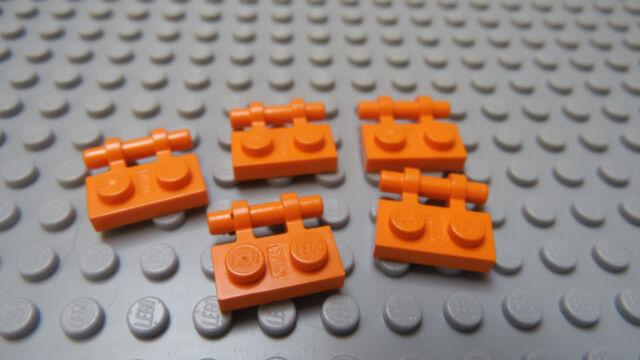 LEGO Lot of   1x2  Black Top Plate Finishing Tile