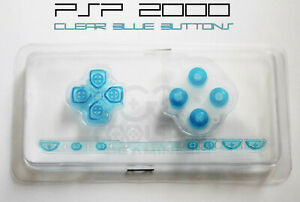 PSP-2000-Replacement-Clear-Blue-Button-Set-UK-Dispatch