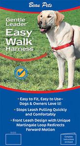 Beaupets Easy Walker Harness Large Black