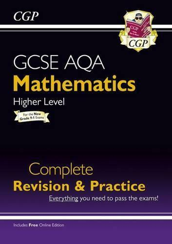 Neuf Gcse Maths Aqa Complete Revision & Practice : Higher - Pour The Grade 9-1