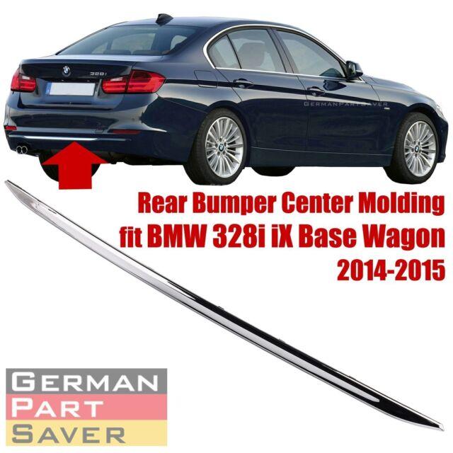 AUTOPA 51127289755 Luxury Rear Bumper Center Chrome Strip Trim Moulding for BMW 3 Series F30 F31