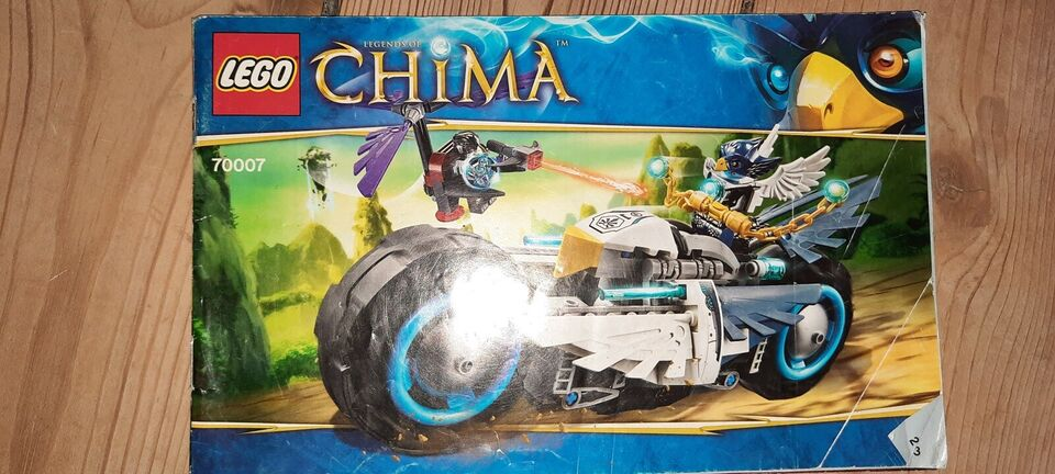 Lego Legends of Chima, Eglors flyvende motorcykel 70007