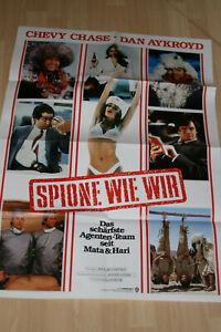 Spione wie wir - Kinoplakat - mit Chevy Chase, Dan Aykroyd