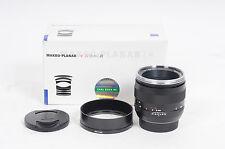 Zeiss 50mm F2 Makro-Planar ZE T* Lens 50/2 Canon EF                         #636