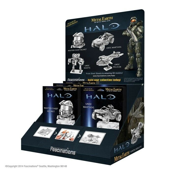 Halo Présentoir Halo pour 48 kits (6 pcs) Metalearth