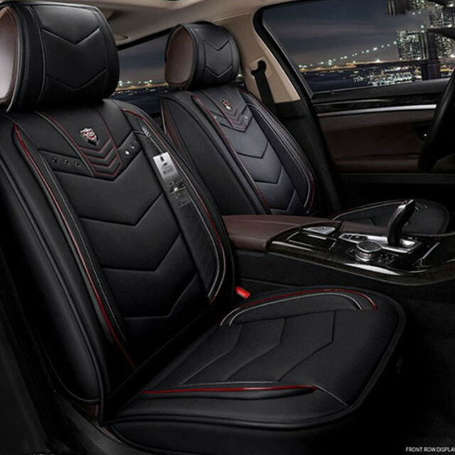 New 6D Pu Leather Car Seat Covers Cars Cushion Auto Accessories Styling