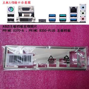 Original IO I//O Shield Back Plate Blende Bracket for ASUS PRIME X370-PRO