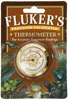 Fluker Round Thermometer the Rolls Royce Temp Reptile Free Ship Usa