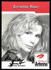 Annette Raer Autogrammkarte Original Signiert ## BC G 9969