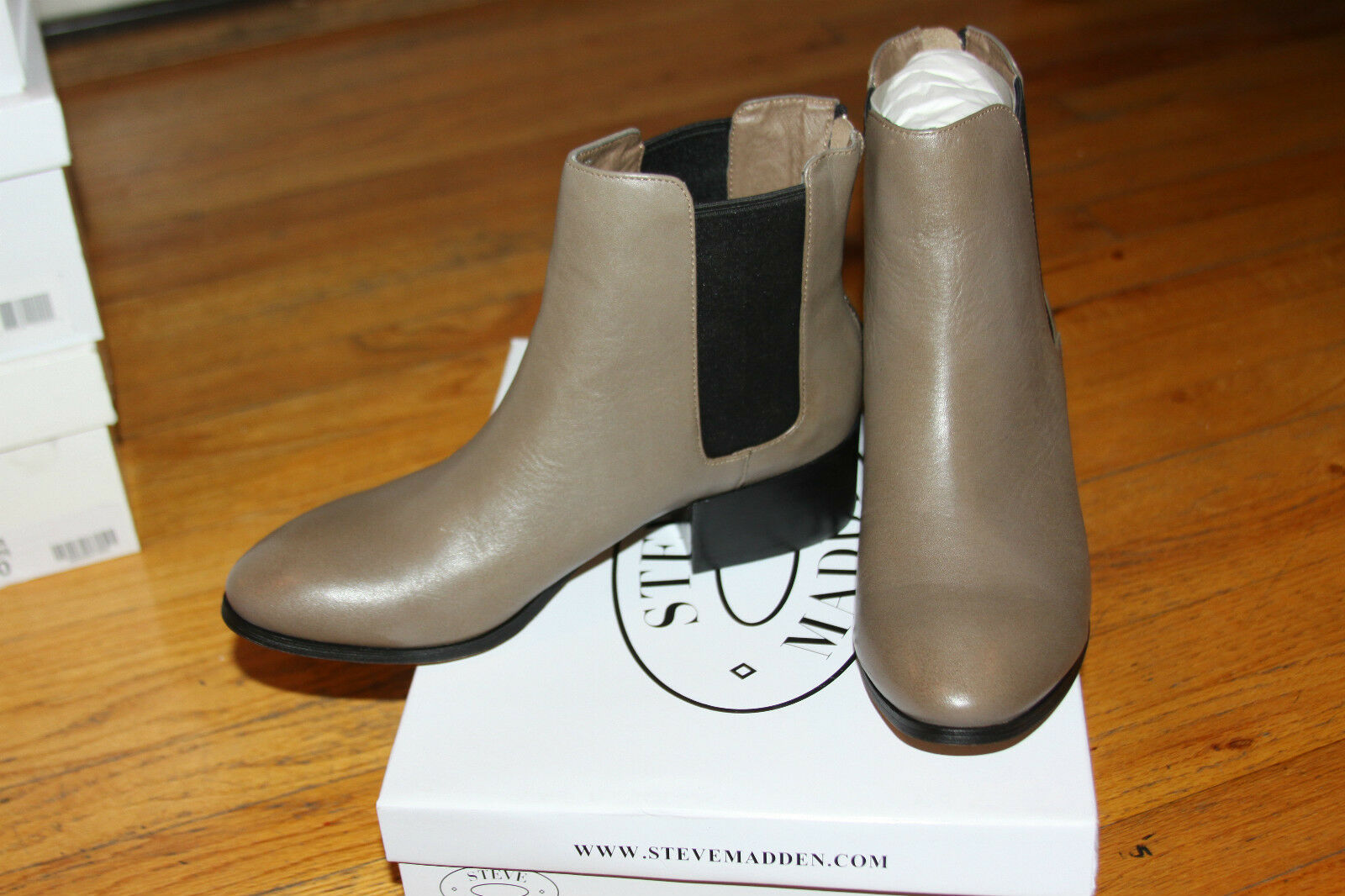 Steve Madden Jodpher Stone Leather Boot 11M