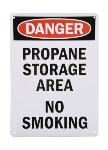 """SmartSign Aluminum OSHA Safety Sign Legend /""""Danger Free Shipping Propane Sto.."""