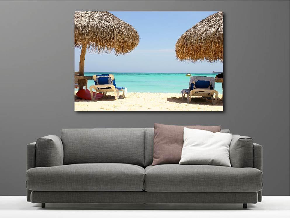 Gemälde Gemälde Deko Set unter den Tropen Ref 6780613