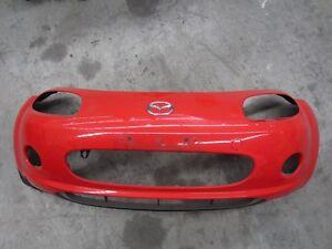 Mazda-MX5-Miata-NC-NC1-05-08-Front-Bumper-Used-Good-Condition-True-Red