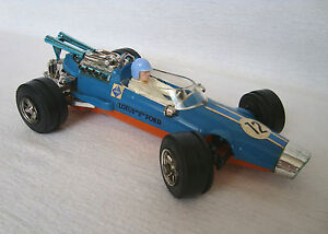 "Vintage 9.8"" Very Rare West German Ford Lotus F1 Car toy for Parts or Repair"