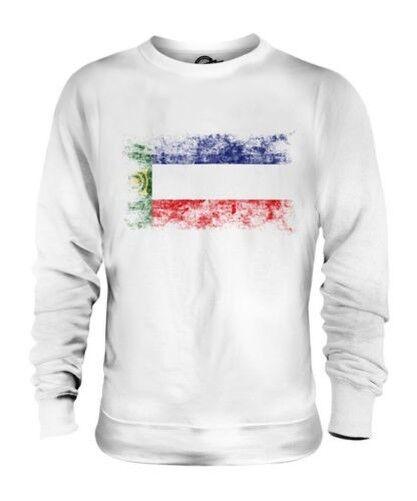Khakassie Drapeau Délavé Unisexe Pull Maillot Vêtement T-Shirt Cadeau Football