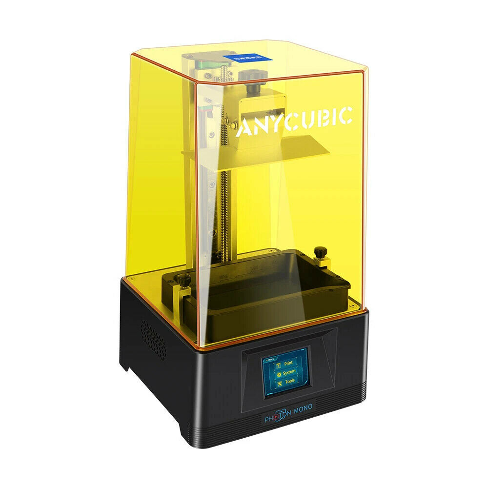 Anycubic Photon Mono 3D-Harzdrucker 130 x 80 x 165 mm mit 2K LCD-Bildschirm