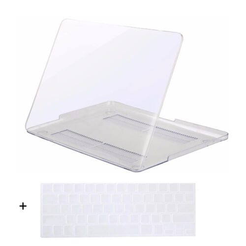 Laptop Clear Hard Shell Case for Macbook Air 13 Pro 13 15 Retina Keyboard Cover
