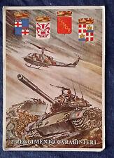 Cartolina Militare 2° Reggimento Carabinieri (non viaggiata)     FC_3/17