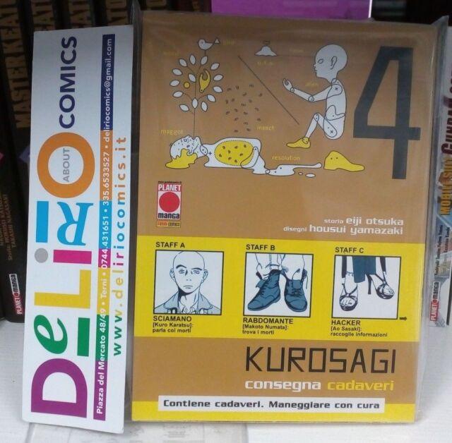 KUROSAGI N.4 Ed. PLANET MANGA SCONTO 10%