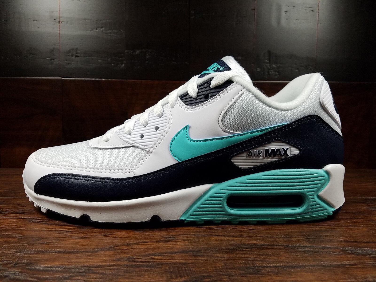 Nike Air Max 90 Essential (Blanc Aurora vert Obsidienne)  Homme