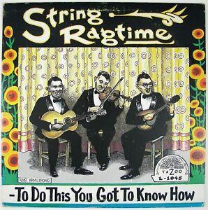 LONNIE-JOHNSON-DAVE-APOLLON-ET-AL-String-Ragtime-LP-1974-COUNTRY-FOLK-VG-NM