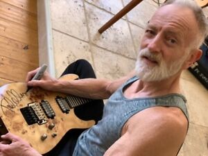 Jackson Pro Series Guitar signed by Def Leppard's Phil Collen