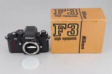RARE! [TOP Mint] Nikon F3HP Film Camera SN:1994388 Latest Model w/BOX F/S #N387