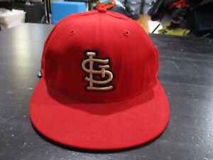 quality design dc699 c1de6 Image is loading VINTAGE-New-Era-St-Louis-Cardinals-Fitted-Snap-
