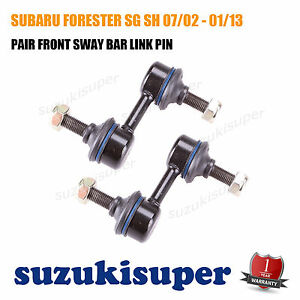 Pair-L-amp-R-FRONT-Sway-Bar-Link-Pin-fits-SUBARU-FORESTER-SG-SH-07-02-01-13