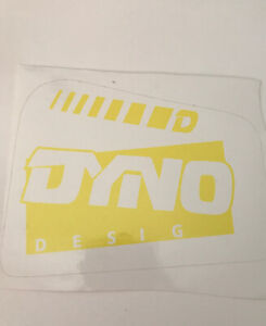 DYNO DRAIN PIPE SEAT POST DECAL BMX RACING STICKERS NOS GT DECALS