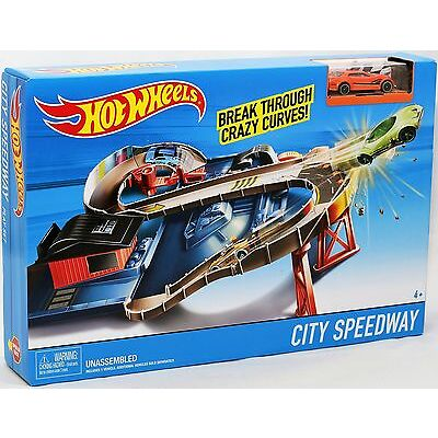 Mattel DTN00 Hot Wheels Hot Wheels City Speedway Rennbahn TV Werbung NEU / OVP