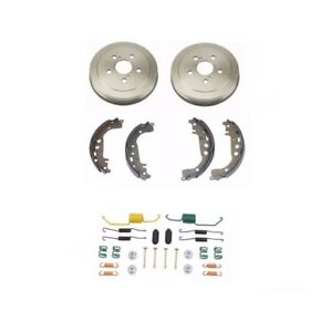 Rear Drums and Brake Shoes for Toyota Celica 02-05 Corolla 05-08 Prius 04-08