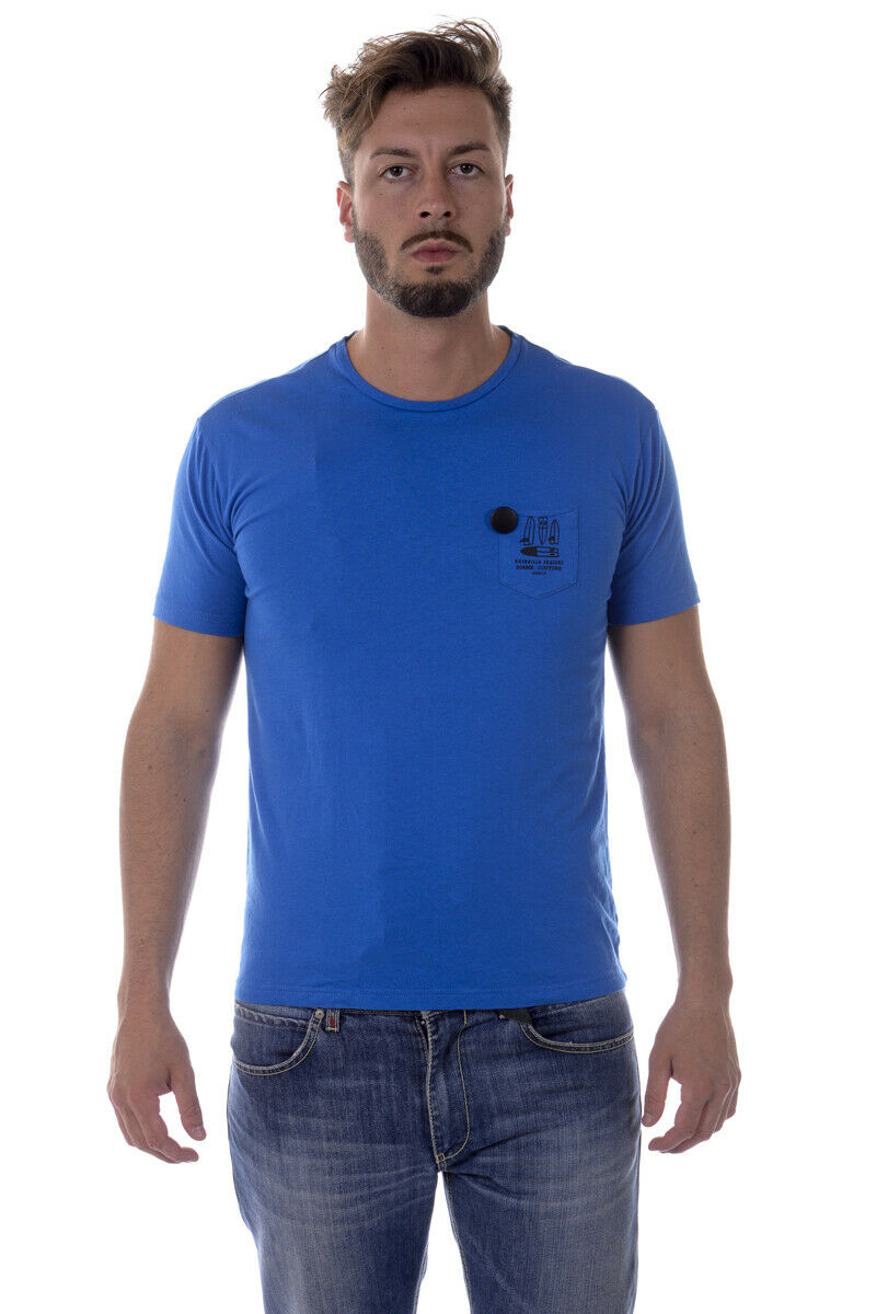 Daniele Alessandrini Tank Top T Shirt Mens Blau M6121E6433607 3 Größe M offer