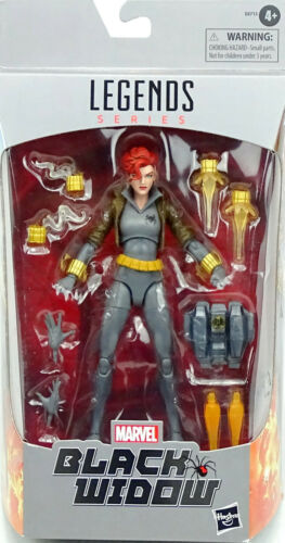 "16 cm HASBRO MARVEL/'s Black Widow 6/"" inch//ca MARVEL Legends Black Widow Comic"