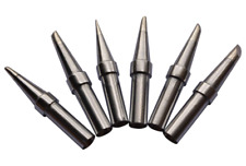 Baitaihem 6 Pcs Replacement Et Soldering Iron Tip Set For Weller Wesd51 Wes5051
