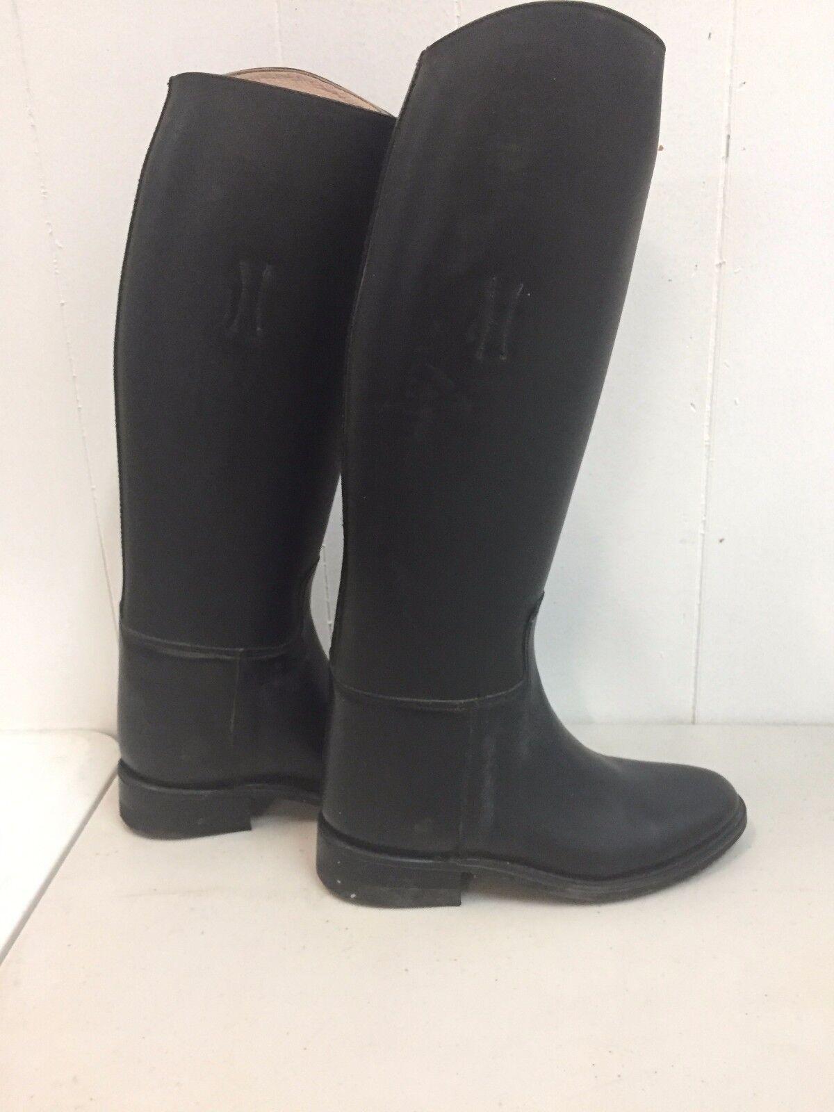 Effingham Bond bottes 10 Taille 3 en cuir Riding Equestrian bottes