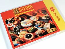 Campaign Button Jigsaw Puzzle 1000 Pieces  New
