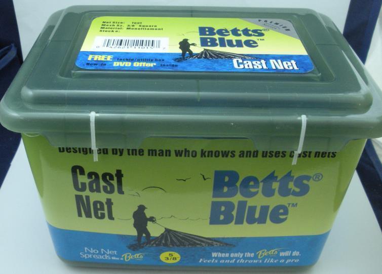Betts 17MB7 blu Professional Series Cast Net 38 7 ft Radius 18417