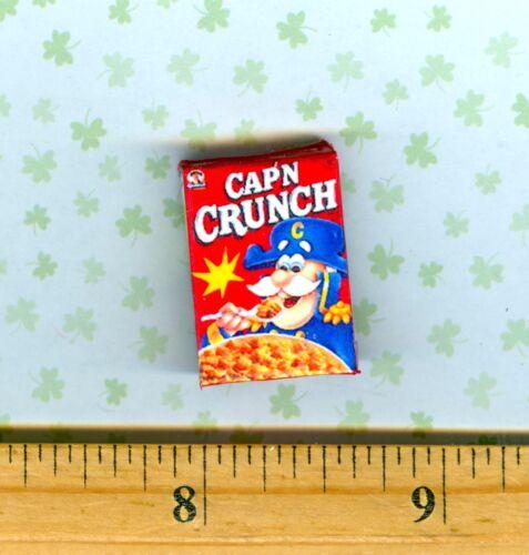 Dollhouse Miniature Size  Crunchy Cereal Box   #R C