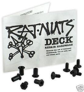 NOS-Powell-Peralta-RAT-NUTS-Skateboard-Deck-Repair-Kit-10-Pack