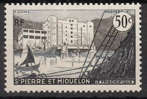 Saint pierre and miquelon france stamp colony nine no. 349 * the ...