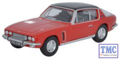 76JI003 Oxford Diecast Jensen Interceptor Flag Red 1/76 Scale OO Gauge