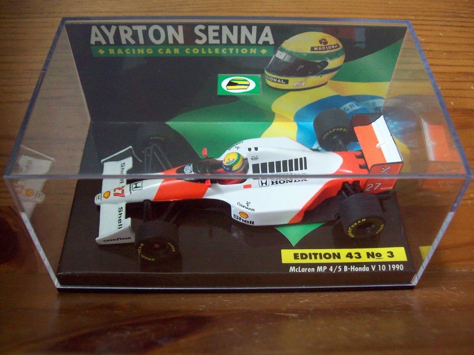Ahorre hasta un 70% de descuento. 1 43 Ayrton Ayrton Ayrton Senna no 03 McLaren MP4 5B Honda V10 1990 campeón del mundo  Envío 100% gratuito