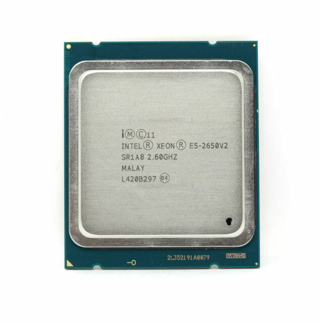 INTEL XEON E5-2650 V2 2.60GHZ 8-CORE 20MB 8GT//s CPU PROCESSOR SR1A8