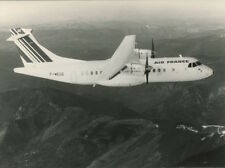 AIR FRANCE ATR-42 LARGE OFFICIAL PHOTO F-WEGE AIR LITTORAL