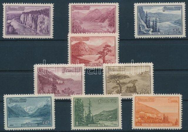USSR stamp Landscape set MNH 1959 Mi 2300-2308 WS120349