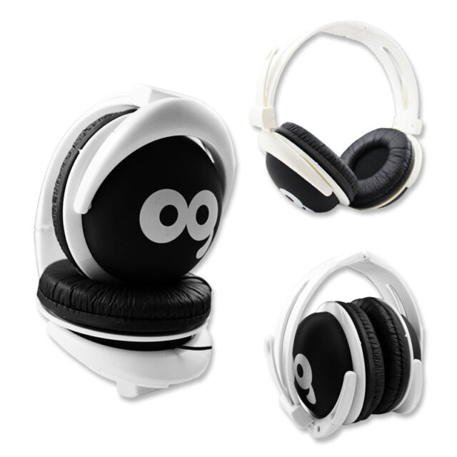 FOLDABLE CUTE WEEP OVERHEAD STEREO HEADPHONES CHILDRENS KIDS BOYS GIRLS TEENS