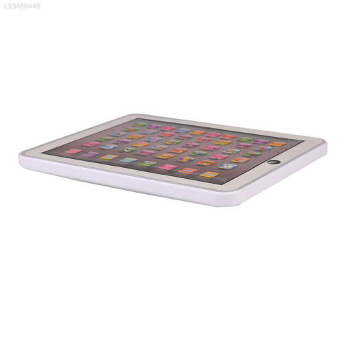 White Toy Gift Tablet Touch Learning Machine Laptop for Kid English Children